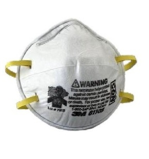 3m Without N95 8210 Mask Valve Dust Exhalation